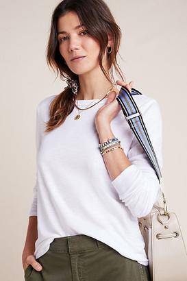 Liz Long-Sleeved Tee By T.La in White Size S