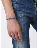 M. Cohen Tonal Beaded Bracelet - Blue - Size MEDIUM