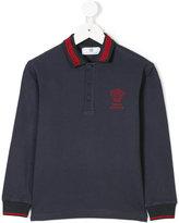 Versace long sleeve polo shirt