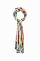 Missoni Skinny Striped Scarf