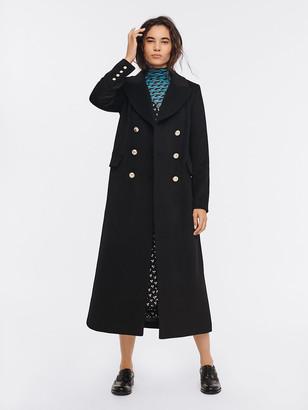 Diane von Furstenberg Lynnlee Wool-Blend Coat