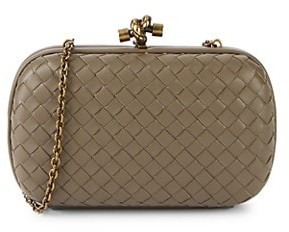 Bottega Veneta Woven Leather Clutch