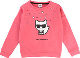 Karl Lagerfeld Cool Choupette Sweatshirt, Size 6-10