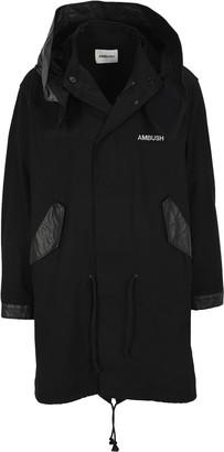 Ambush Hooded Logo Coat