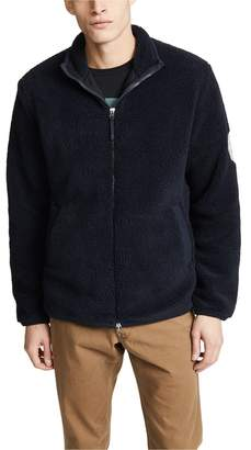Fred Perry Borg Zip-Through Fleece Jacket