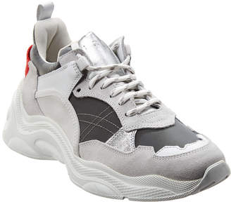 IRO Curve Leather-Trim Runner Sneaker