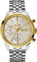 Bulova Men's Accu Swiss Two Tone Stainless Steel Automatic Watch - 65C113