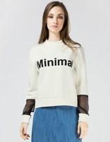 Harmony White Sofiana Sweater