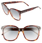 Jimmy Choo Women's Demas 56Mm Sunglasses - Havana