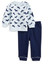 Little Me Infant Boy's Puppies Sweatshirt & Sweatpants Set