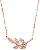 Lord & Taylor 14K Rose Gold Diamond Necklace