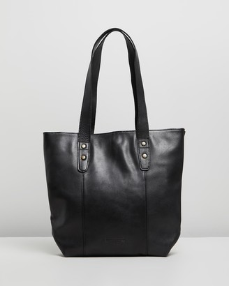 Stitch & Hide - Women's Black Leather bags - Isabelle Bag - Size One Size at The Iconic