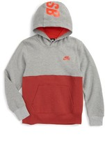 Nike Boy's Colorblock Fleece Hoodie