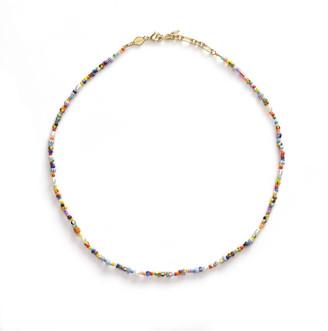 Anni Lu Women's Petit Alaia Necklace - Multi
