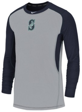 Nike Men's Seattle Mariners Authentic Collection Game Top Pullover
