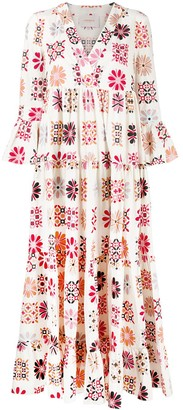 La DoubleJ Jennifer Jane printed midi dress