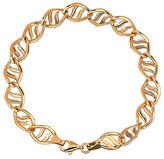 Lord & Taylor 14K Yellow Gold Twist Bracelet