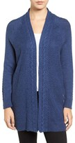Chaus Women's Cable Stitch Open Front Cardigan