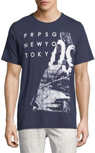 PRPS Broken Mirror Logo T-Shirt