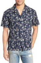 Current/Elliott Dandelion Print Cotton Cabana Shirt