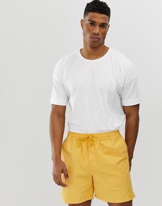 Selected drop shoulder oversized t-shirt-White
