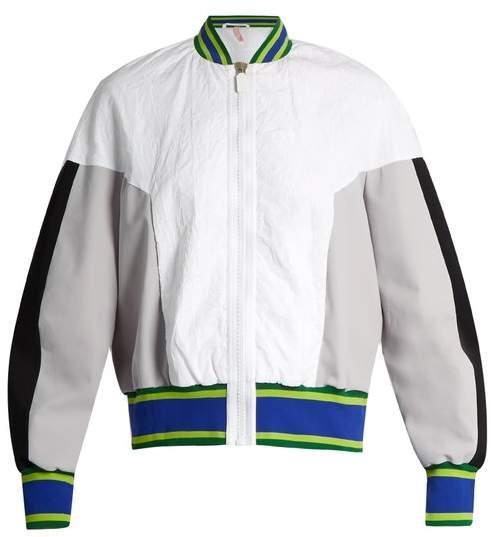 NO KA 'OI NO KA'OI U'i crinkle performance bomber jacket