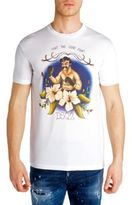 DSQUARED2 D2 Boxer Graphic Print Tee
