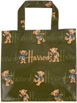 Harrods Small Rufus Bear Shopper Bag