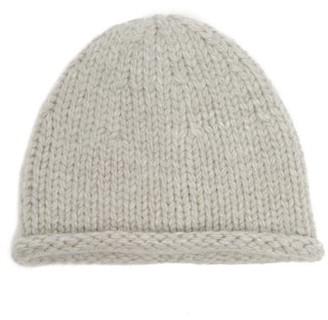 Jil Sander Rolled-cuff Wool-blend Beanie - Grey