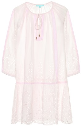 Melissa Odabash Ashley embroidered cotton kaftan