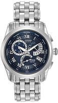 Citizen Bl8000-54l Calibre 8700 Eco-drive Bracelet Strap Watch, Silver/blue