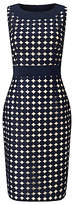 Phase Eight Cecilia Dress, Navy/Oyster