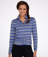 Calvin Klein Striped Ruched Jacket