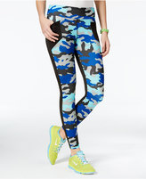Energie Active Juniors' Ellen Camo-Print Leggings