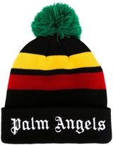 Palm Angels 'Rastafari' pompom beanie