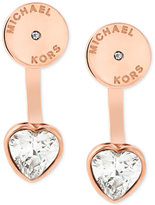 Michael Kors Disc Stud Heart Earring Jackets