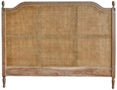 Hudson Furniture French Provincial Marseille Rattan Headboard Size: Queen, Finish: Weathered Oak