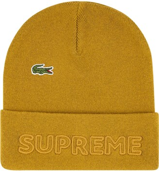 Supreme x Lacoste knitted beanie