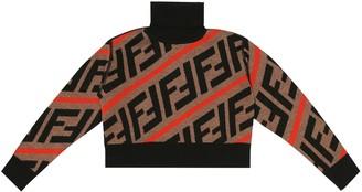 Fendi Kids FF wool sweater