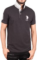 U.S. Polo Assn. Men's Slim Fit Solid Short Sleeve Pique Shirt