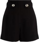 Proenza Schouler High-rise twist-lock cady shorts