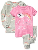 Rainbow elephant sleep set (3-pack)