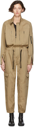 BEIGE Random Identities Versatile Flight Jumpsuit