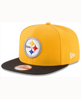 New Era Pittsburgh Steelers Sideline Classic 9FIFTY Snapback Cap
