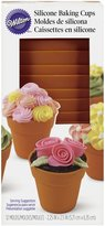 Wilton 415-4120 Silicone Flower Pot Baking Cups