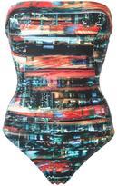 Lygia & Nanny - abstract print swimsuit - women - Polyamide/Spandex/Elastane - 48