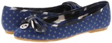 Juicy Couture Riddle Kid (Toddler/Youth) (Navy/Grey) - Footwear