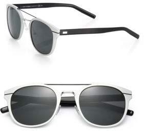 Christian Dior Metal Round Sunglasses