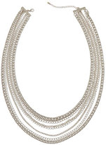 Jules Smith Designs Layered Hip-Hop Necklace, Silver