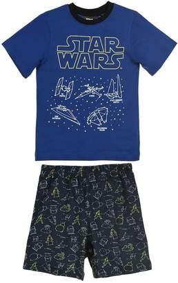 Star Wars Cotton Print Short Pyjamas, 4-10 Years